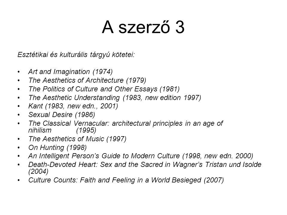 Szerző 4 Magyar nyelven olvasható kötetei: Mi a konzervativizmus.