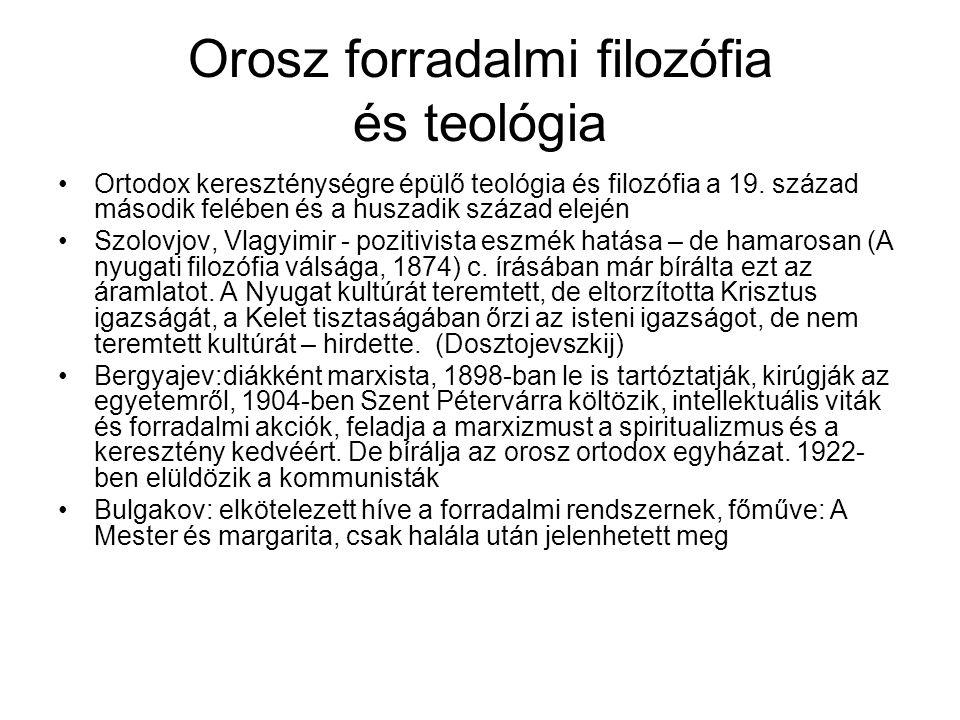 Az orosz lázadók Szolzsenyicin: Nobel-díjas író, vallásos ihletettségű, többször járt a sztálini börtönökben és koncentrációs táborokban.