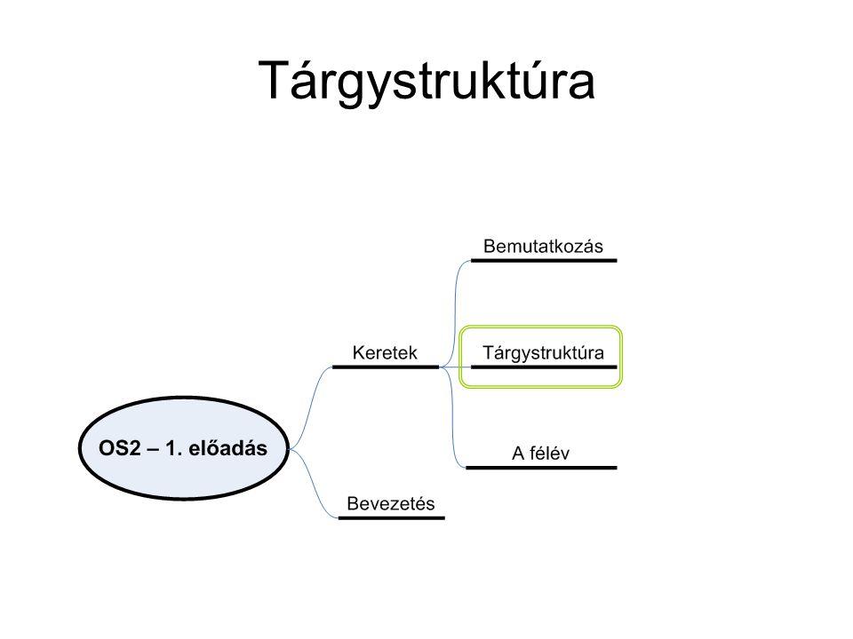 Tárgystruktúra