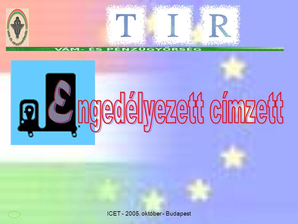 ICET - 2005. október - Budapest