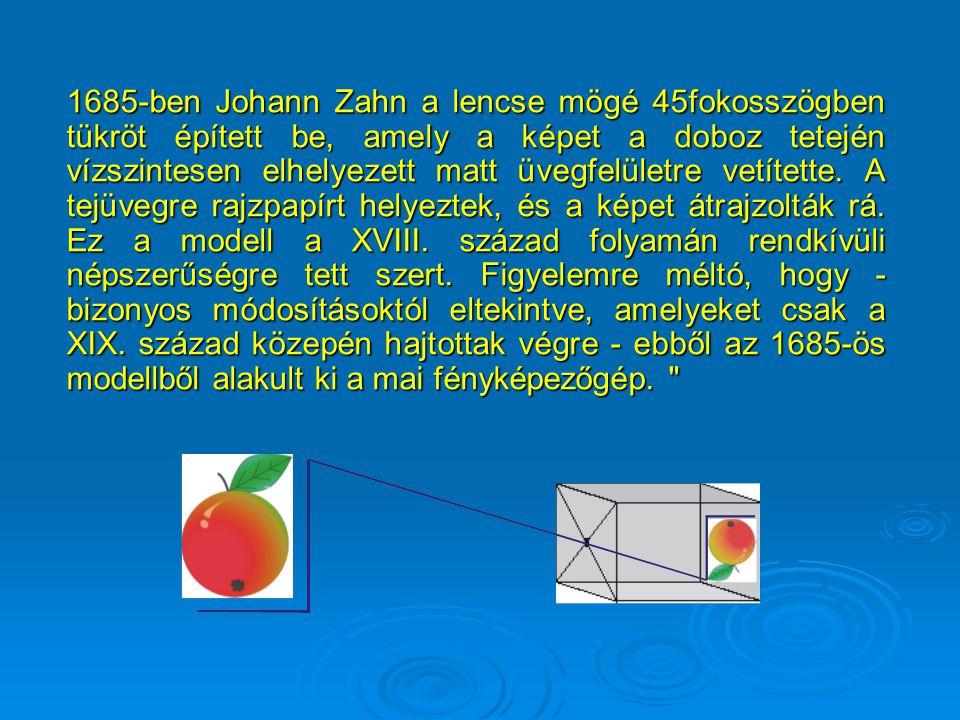 Változtatható gyújtótávolság sematikus rajza Frontlencse Rekesz (köztes tag) Kép v. tárgylencse
