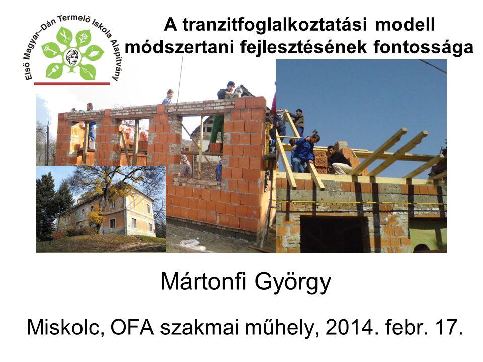 Mártonfi György Miskolc, OFA szakmai műhely, 2014.
