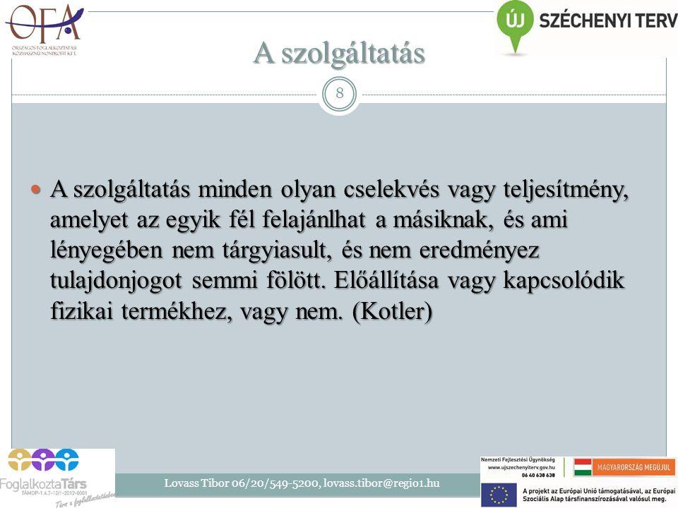 A szolgáltatások vásárlói döntési folyamata 2014.07.