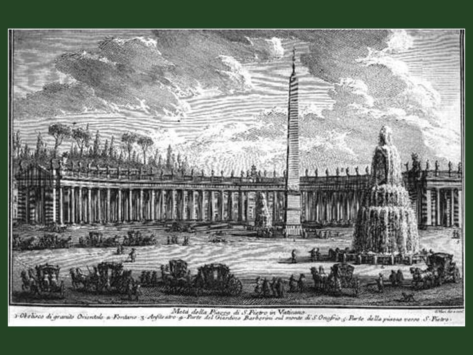 Rajz 1630 -ból. Megjegyzés: az épület két harangtornyát később eltávolították.