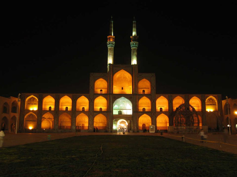 ISFAHÁN Mintegy 340 km-re délre Teherántól található Iszfahán tartomány Irán harmadik legnagyobb városa.