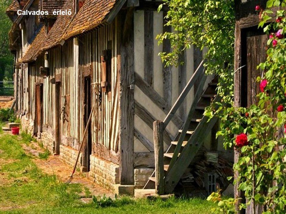 A híres normandiai Calvados - almaborból készített, érlelt párlat