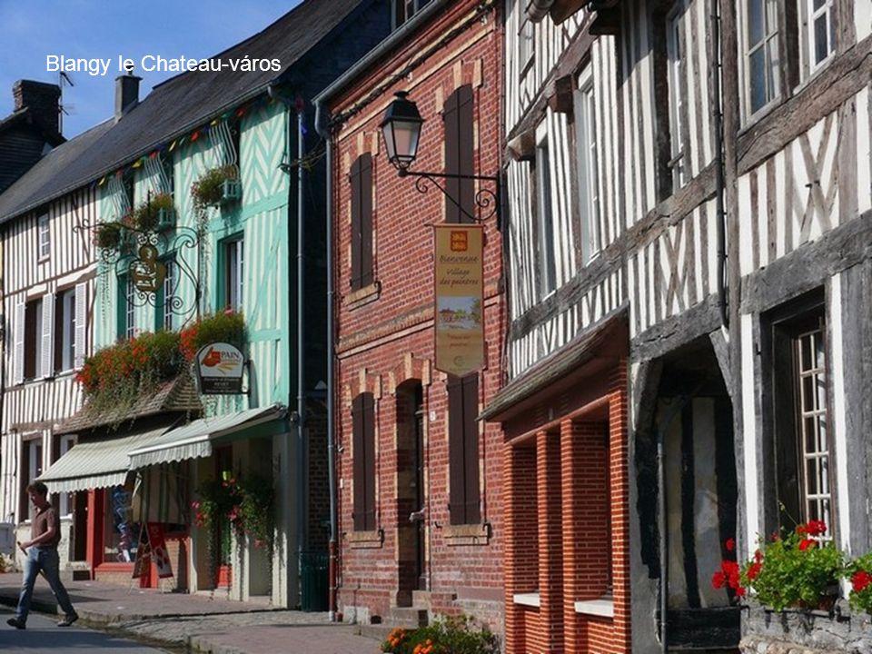 Blangy le Chateau-város
