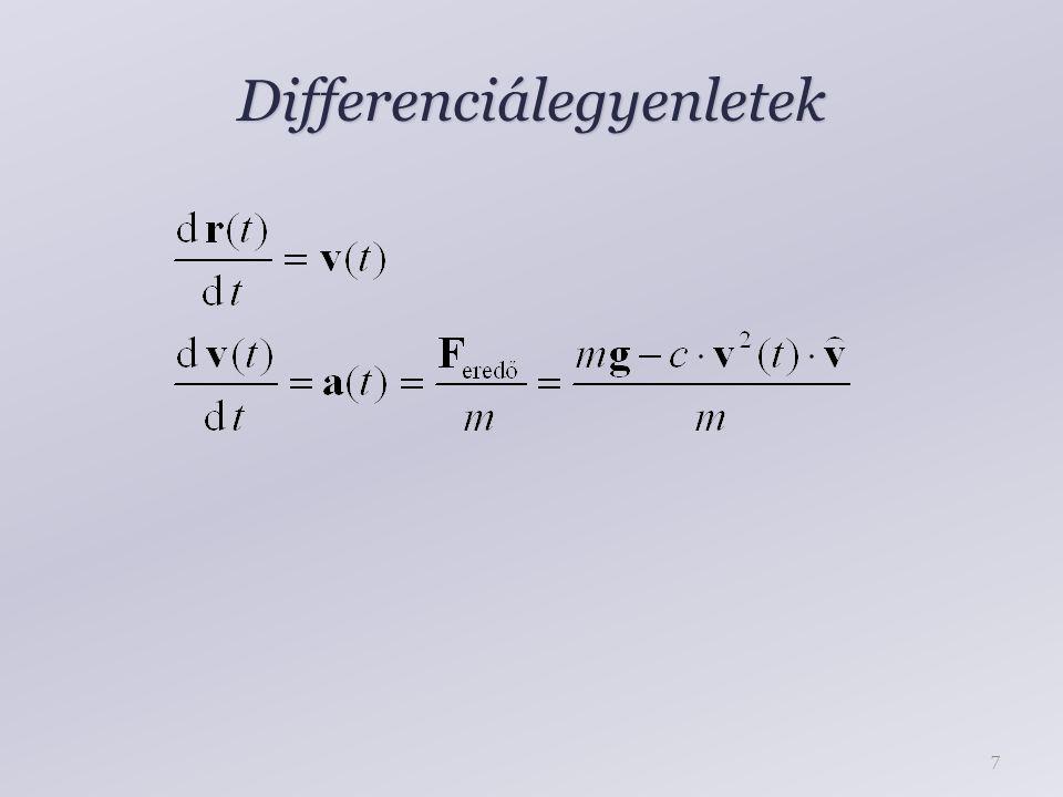 Differenciálegyenletek 7