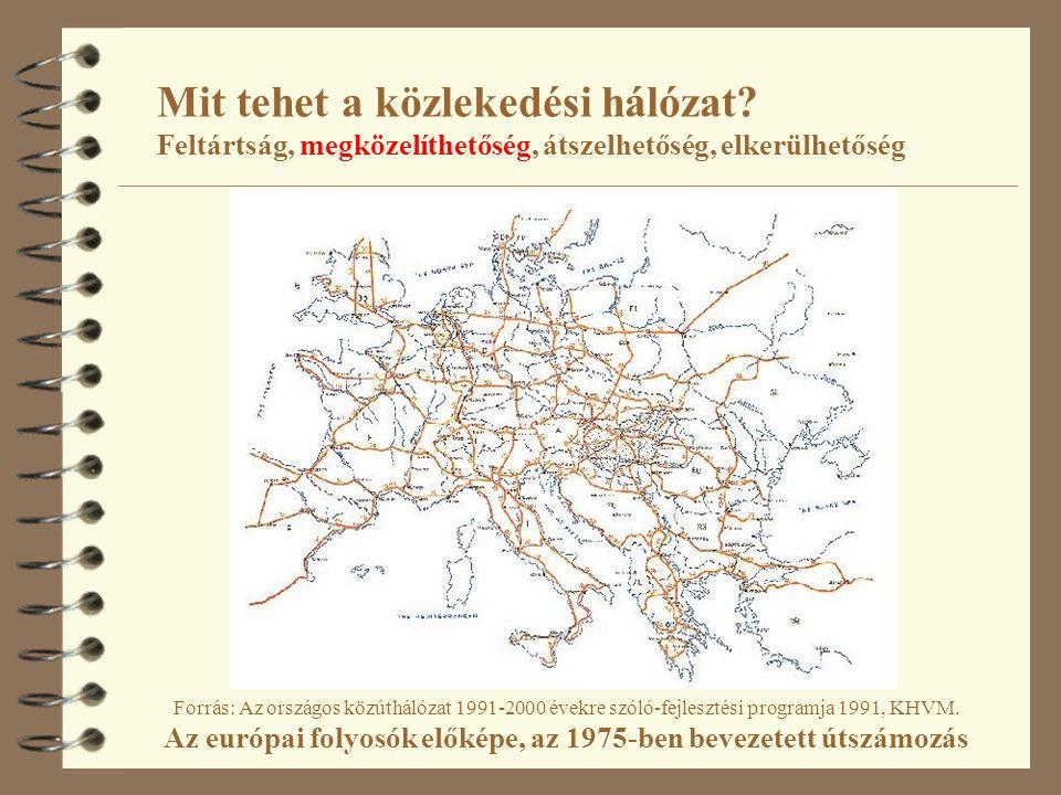 Source: http://tentea.ec.europa.eu/download/maps/overview/01_tent_and_pp30_20101011_labels_galileo_logo.pdf EUROPA > European Commission > TEN-T projects MAP Libraryhttp://tentea.ec.europa.eu/download/maps/overview/01_tent_and_pp30_20101011_labels_galileo_logo.pdf Mit tehet a közlekedési hálózat.