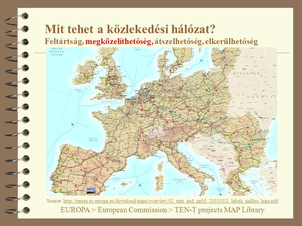 4 Mit jelent a transz-európai hálózat (TEN) keleti kiterjesztése .