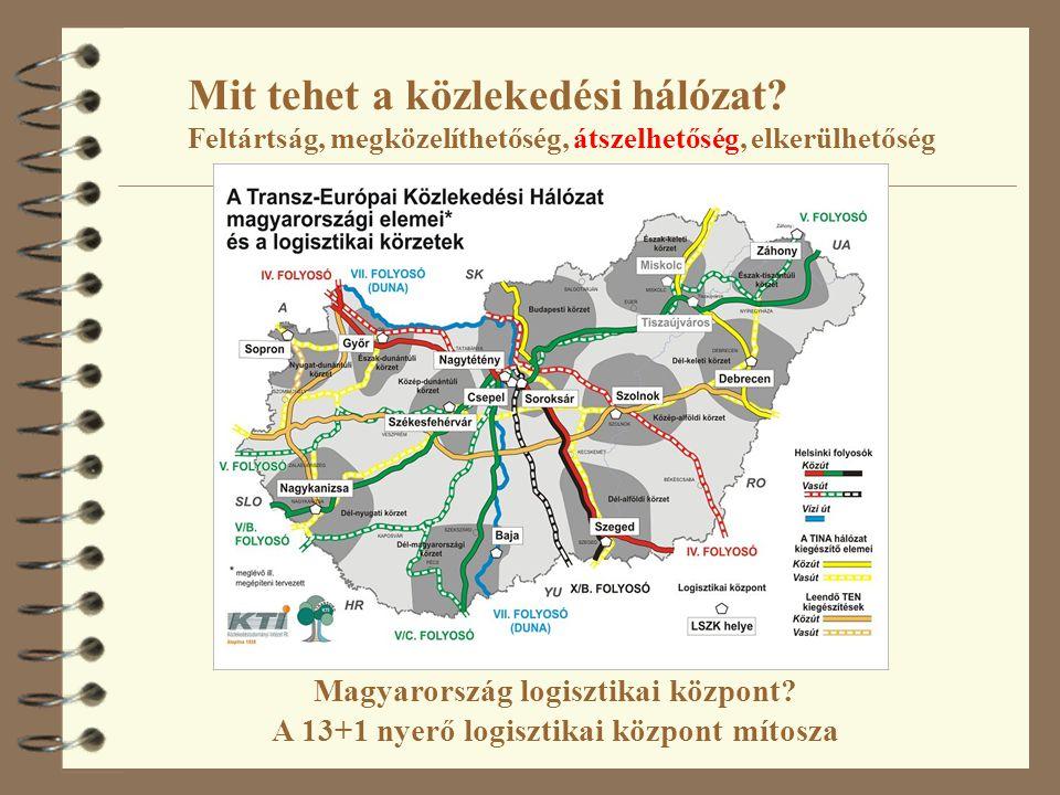 4 Németország: 22 LKP 80 millió lakos (Hu: 3 LKP) 4 Franciaország: 9 LKP 50 millió lakos (Hu: 2 LKP) 4 Hollandia: 3 LKP 15 millió lakos (Hu: 2 LKP) 4 Spanyolország: 20 LKP 40 millió lakos (Hu: 5 LKP) 4 Olaszország: 15 LKP 50 millió lakos (Hu: 3 LKP) 4 Portugália: 1 LKP 10 millió lakos (Hu: 1 LKP) 4 Görögország: 10 LKP (terv) 10 millió lakos 4 Forrás: Szegedi Zoltán – Prezenszki József: (2003) Logisztika menedzsment.