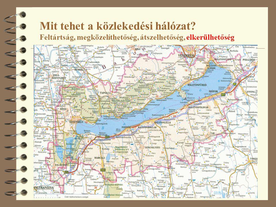 A helsinki folyosók és a TINA-hálózat kiegészítő elemei Forrás: A 8.