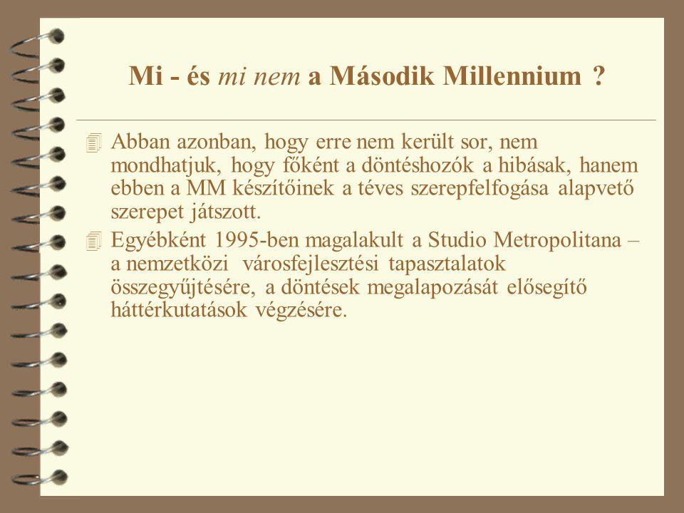 Mi - és mi nem a Második Millennium .
