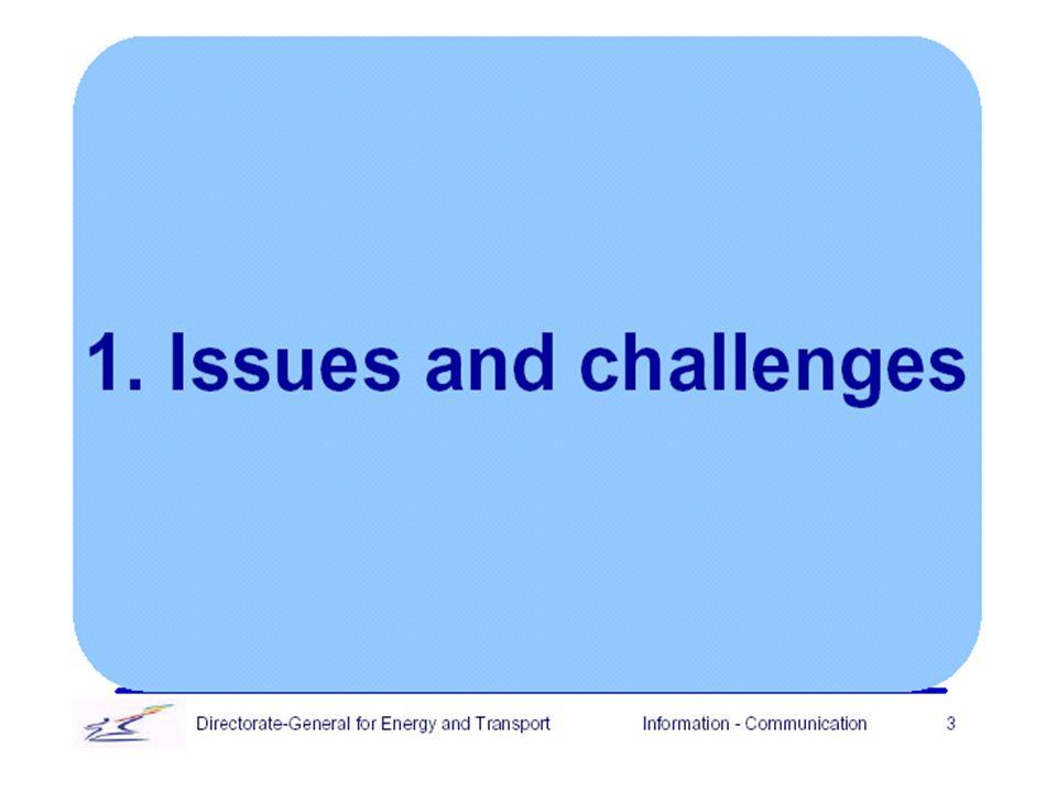 4 A közlekedésfejlesztési program kilenc követelménye: (A közlekedésfejlesztés programjából) 4 1.