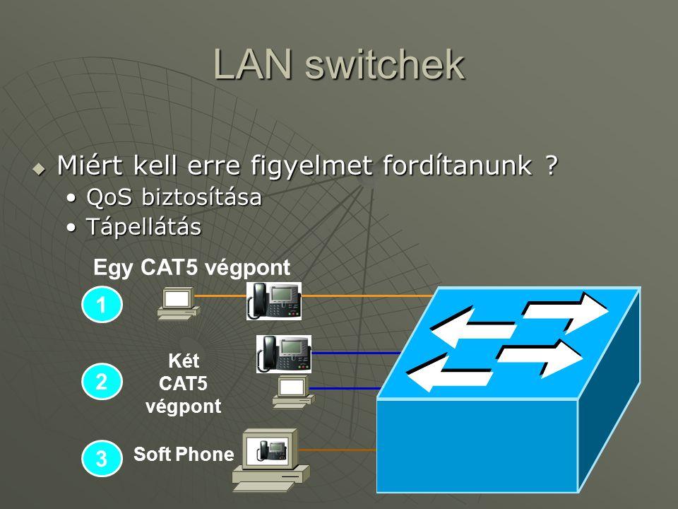 LAN switchek  Miért kell erre figyelmet fordítanunk .