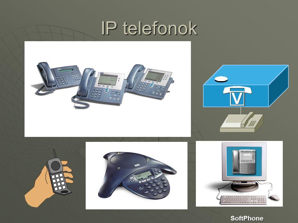 SoftPhone IP telefonok
