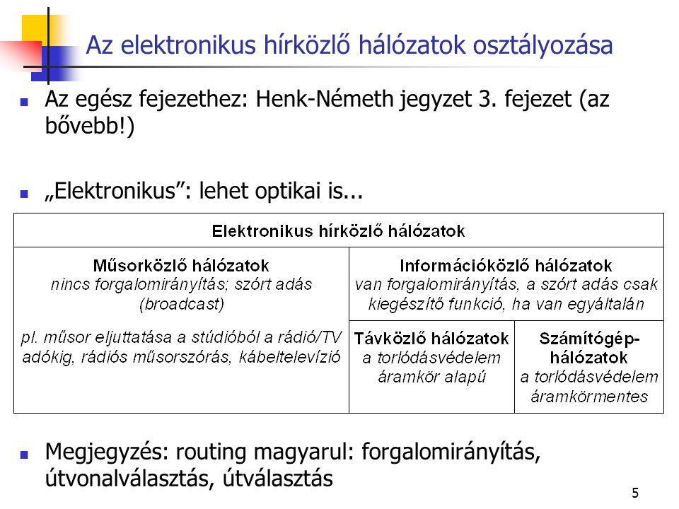 5 Az egész fejezethez: Henk-Németh jegyzet 3.