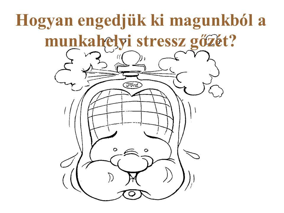 Hogyan engedjük ki magunkból a munkahelyi stressz gőzét?