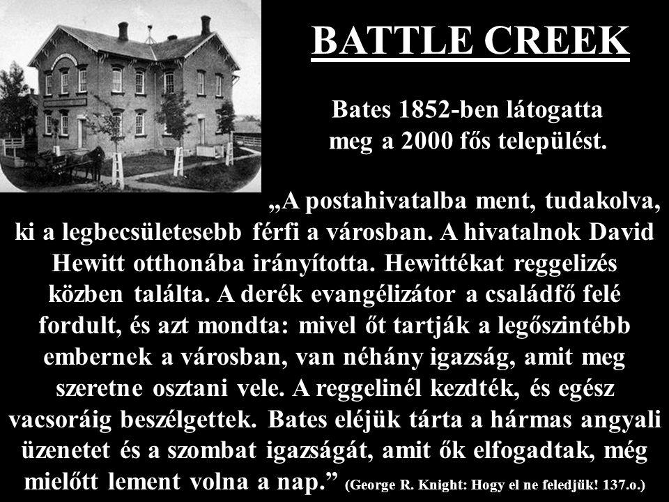 Bates 1852-ben látogatta meg a 2000 fős települést.