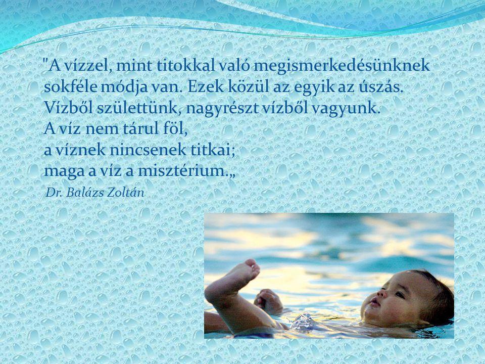Miért is Korai hidroterápia.