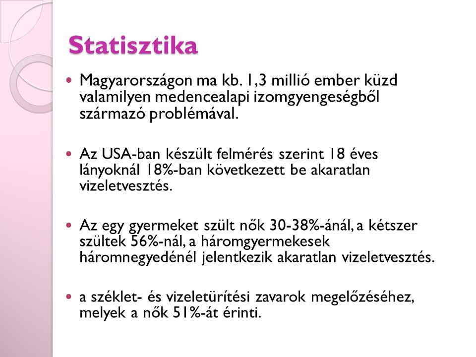 Statisztika Magyarországon ma kb.