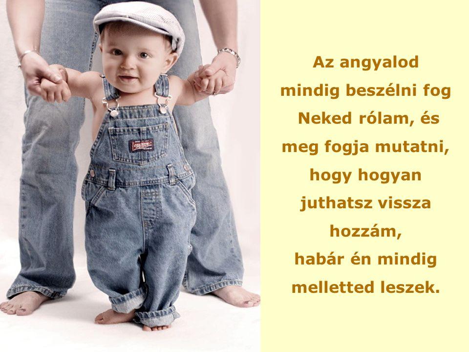 Isten megölelte a gyermeket: