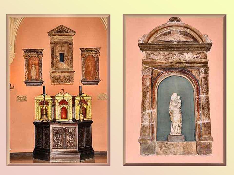 E belsö udvar, ahol Béatrice a fogadásokat adta, még örzi a galéria eredeti hangulatát, középkori és reneszánsz mütárgyak sorakoznak, köztük egy, a velencei Carpaccionak (kb.