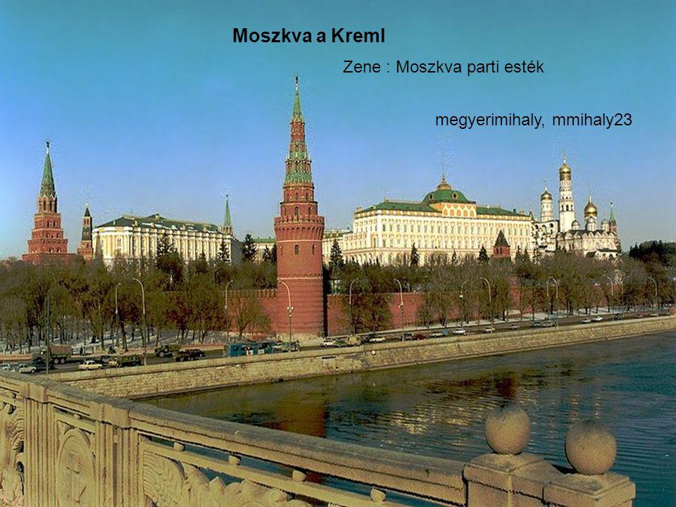 Moszkva látképe