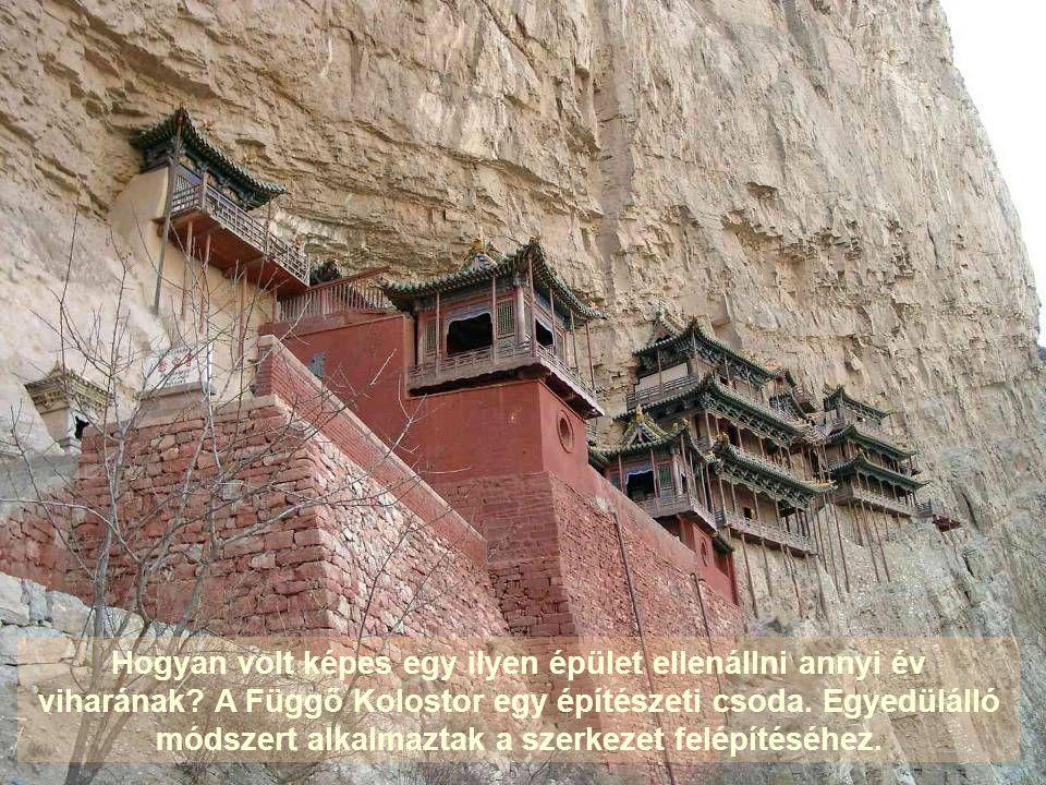 A 491-ben épült Függő Kolostor több mint 1400 évet ért meg.