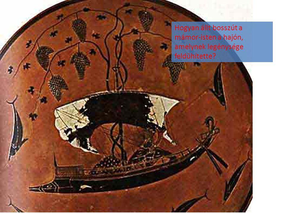 Hogyan állt bosszút a mámor-isten a hajón, amelynek legénysége feldühítette?
