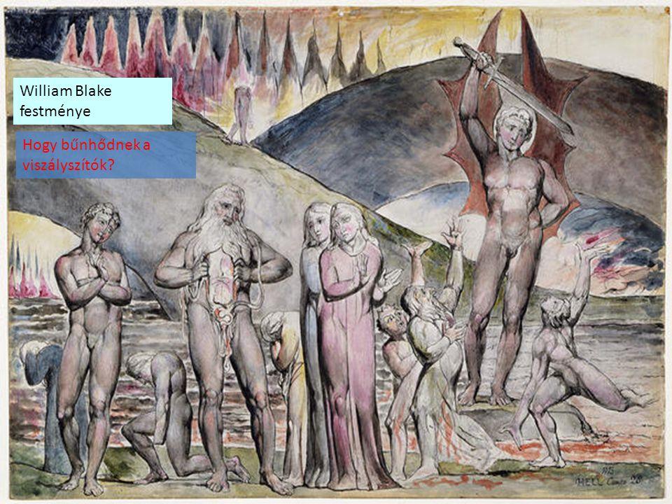 William Blake festménye Hogy bűnhődnek a viszályszítók?