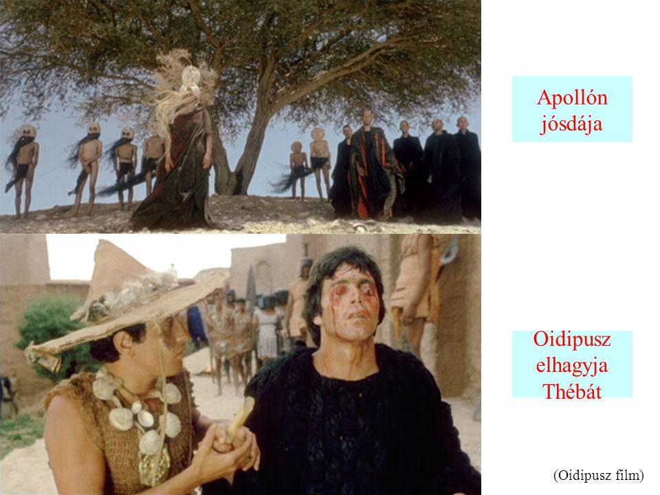 Apollón jósdája Oidipusz elhagyja Thébát (Oidipusz film)