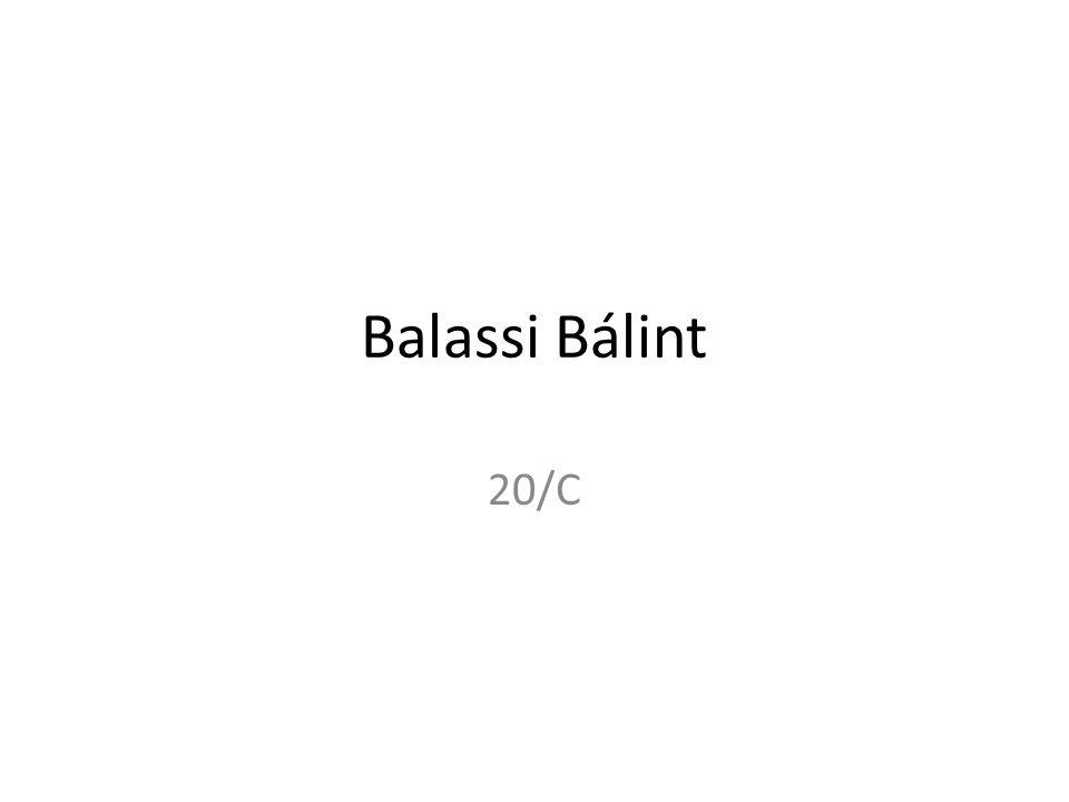 Balassi Bálint 20/C