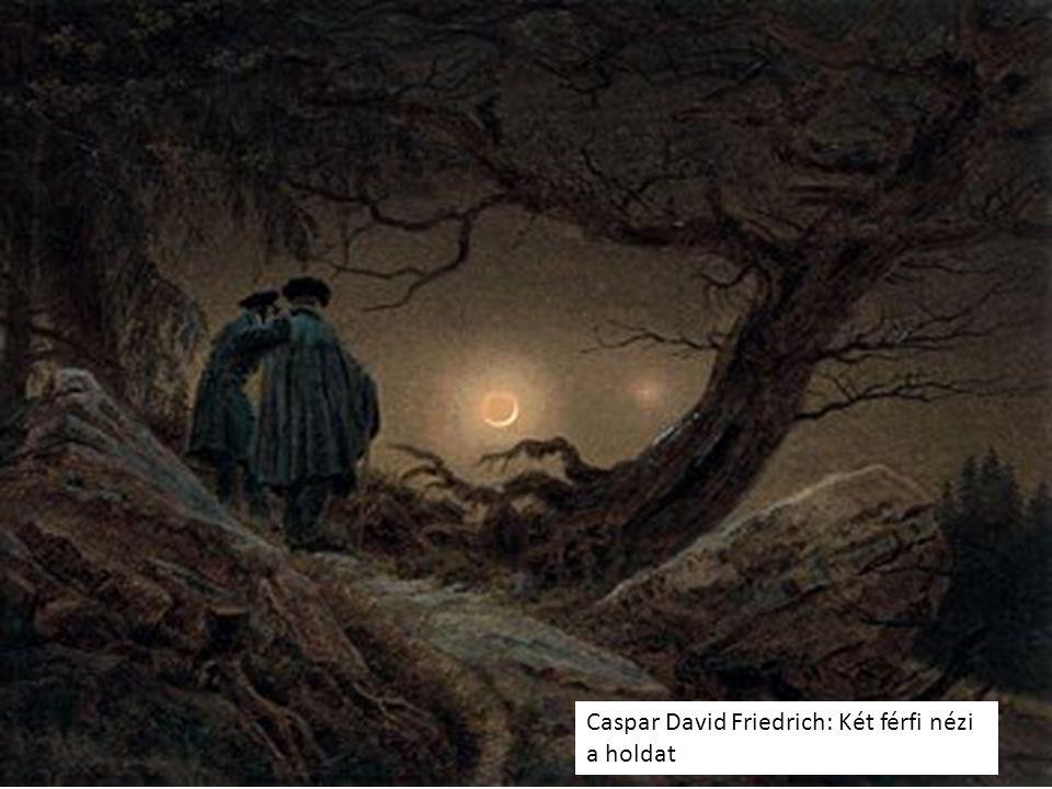 Caspar David Friedrich: Felkel a hold a tenger fölött