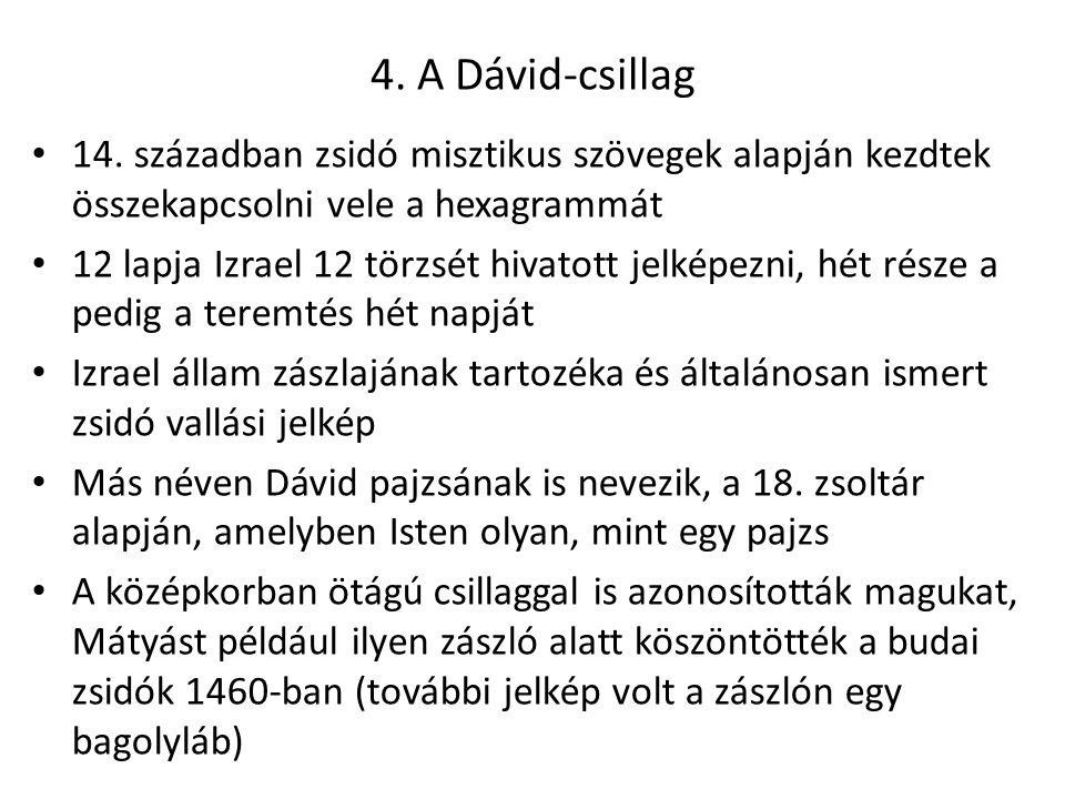 4.A Dávid-csillag 14.