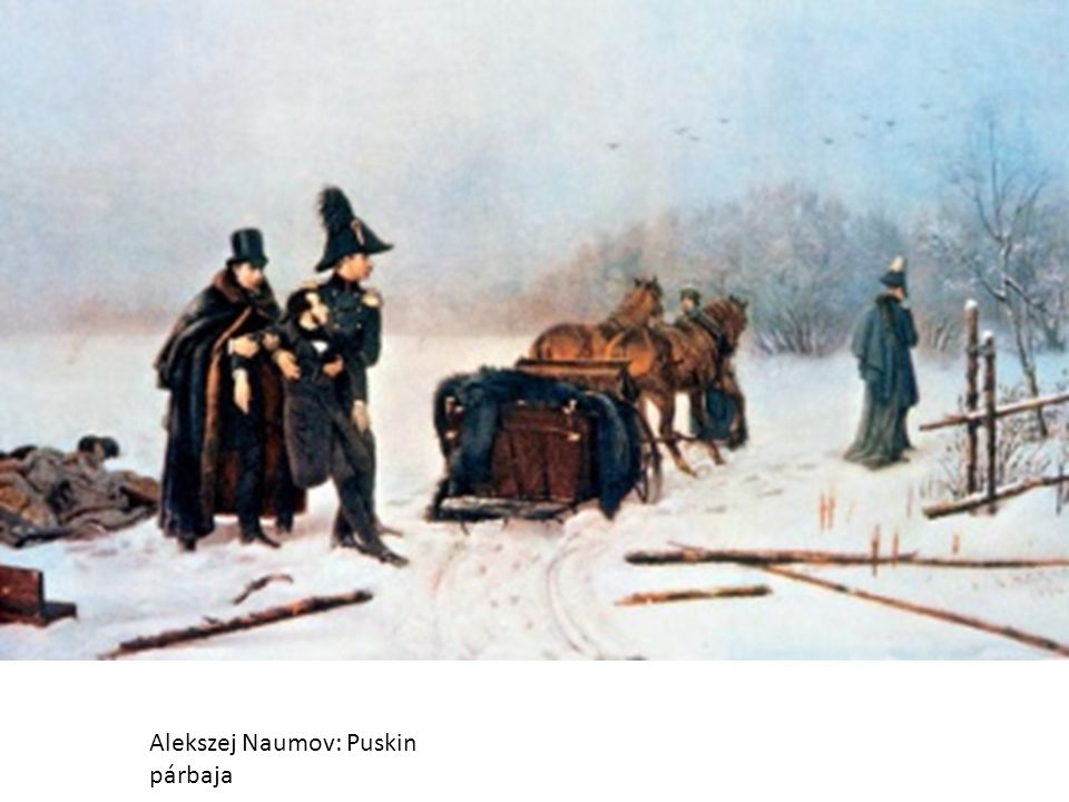 Alekszej Naumov: Puskin párbaja