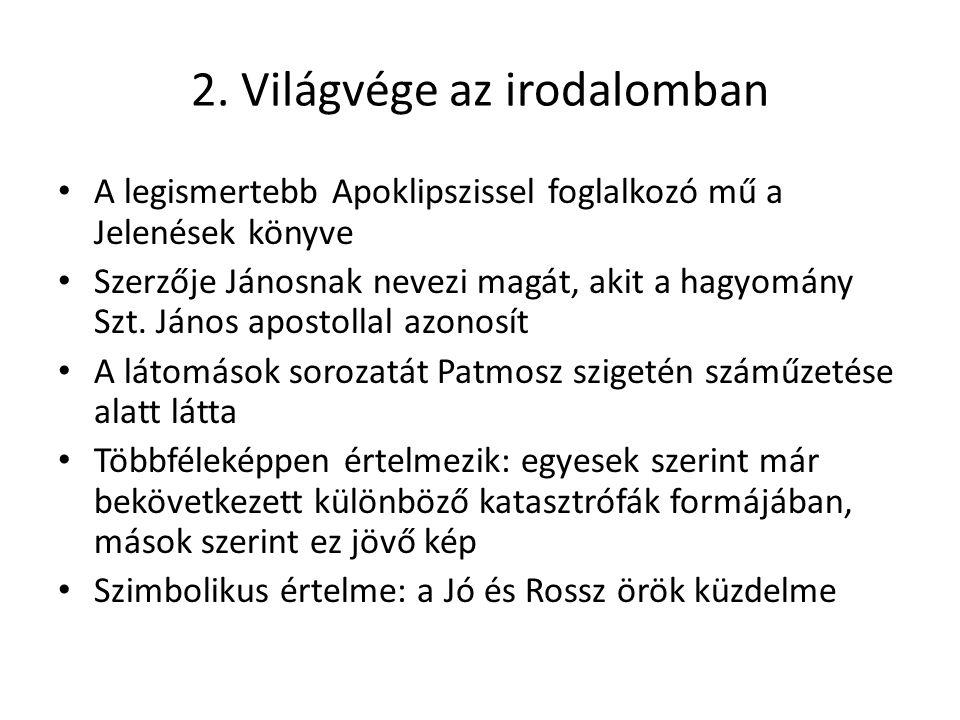 3.Világvége a jósoknál Nostradamus 1999.
