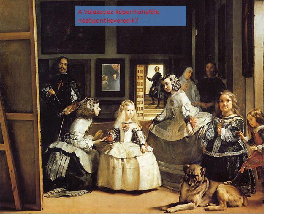 A Velazquez-képen hányféle nézőpont keveredik?