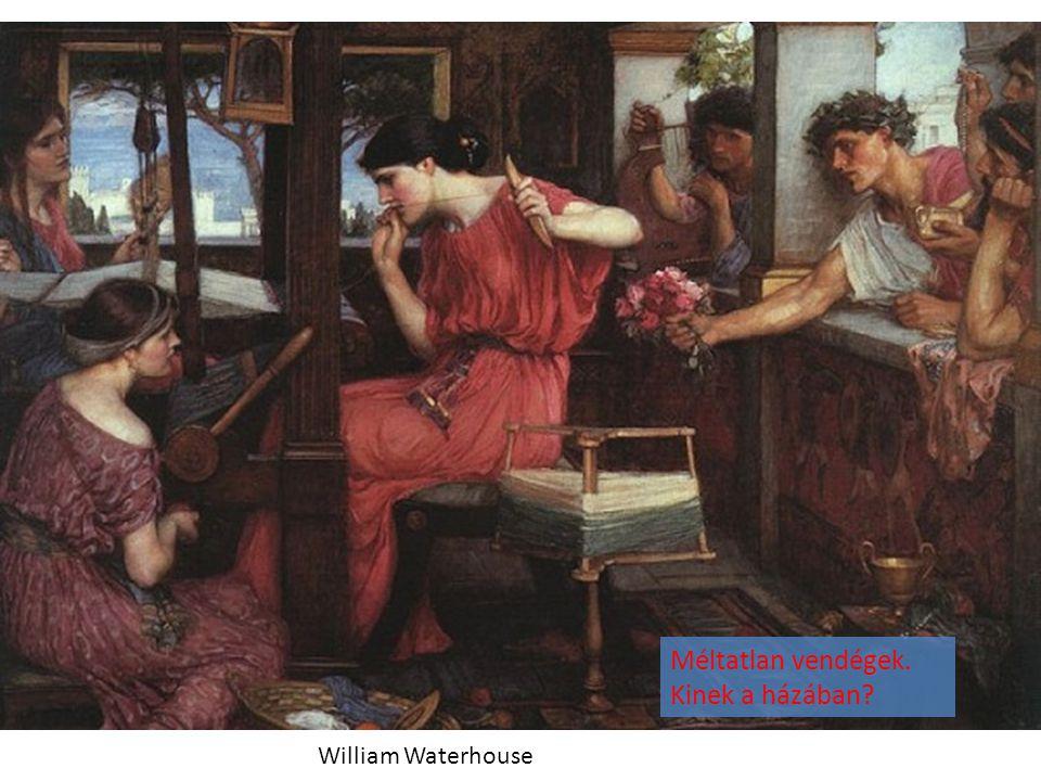 William Waterhouse Méltatlan vendégek. Kinek a házában