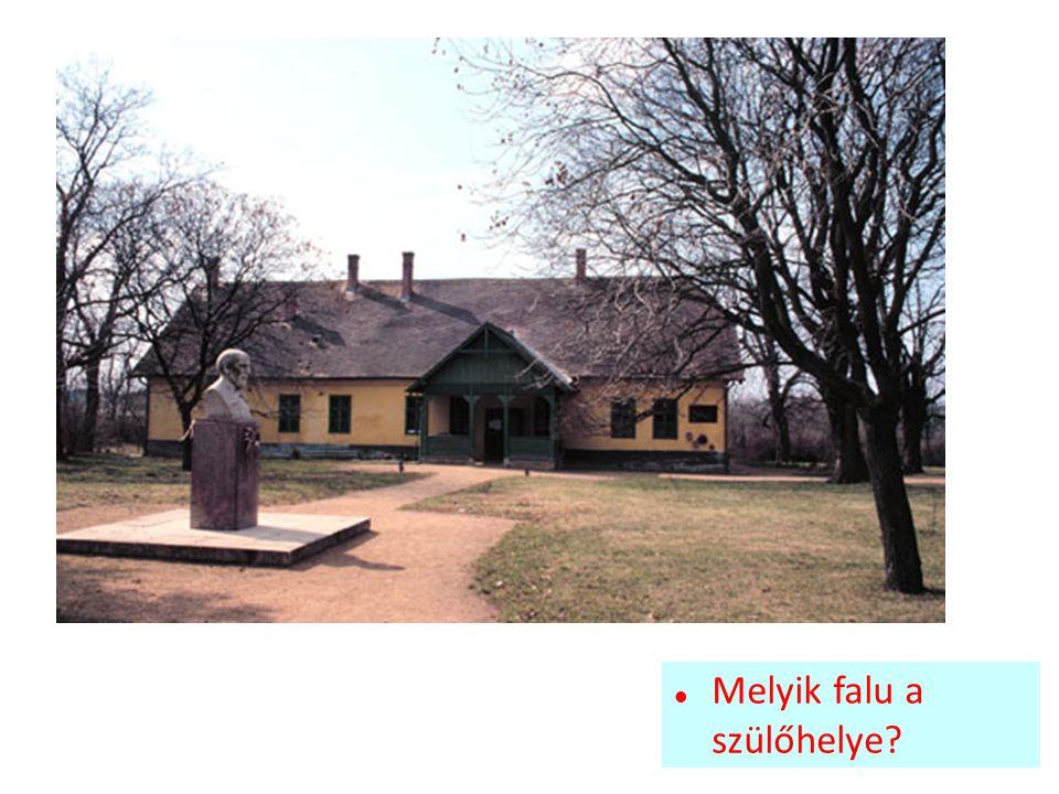 Melyik falu a szülőhelye?