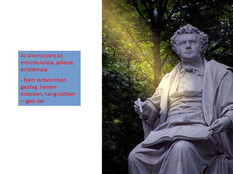 E házikó közelében írta Goethe A vándor éji dalát