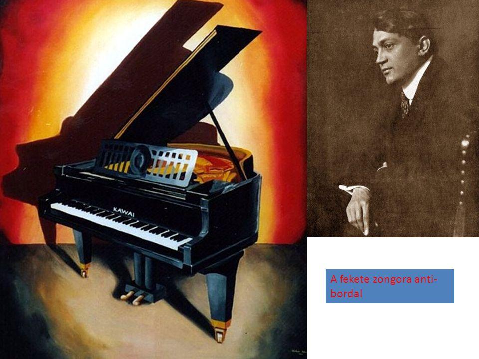 A fekete zongora anti- bordal