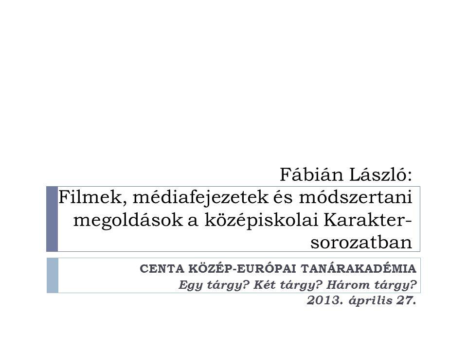 Karakter-sorozat, Magyar nyelv és irodalom, 9-10.