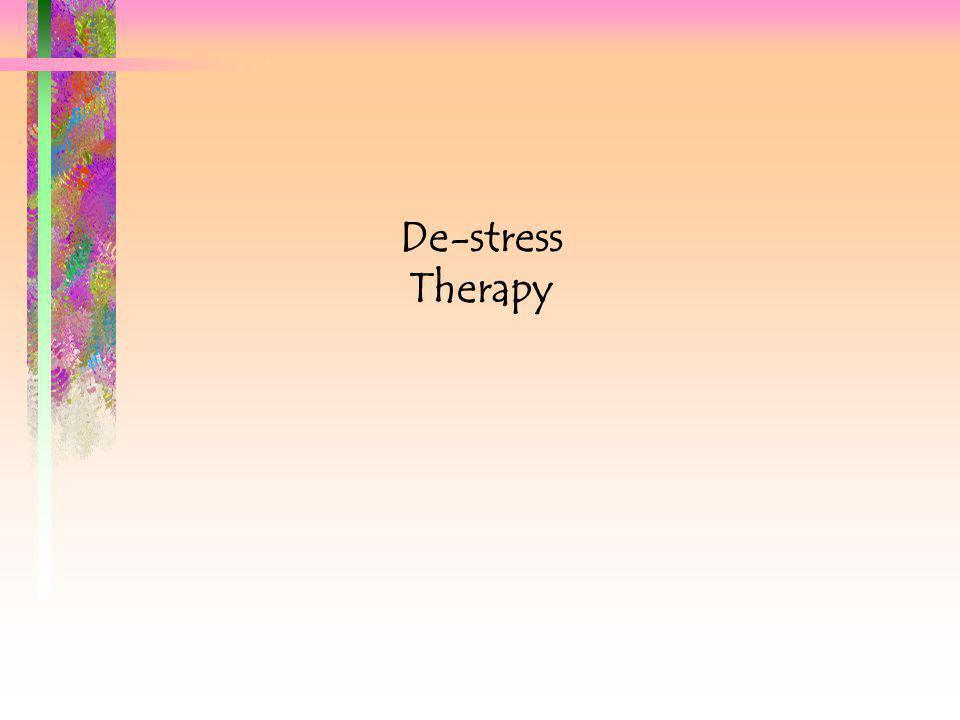 De-stress Therapy