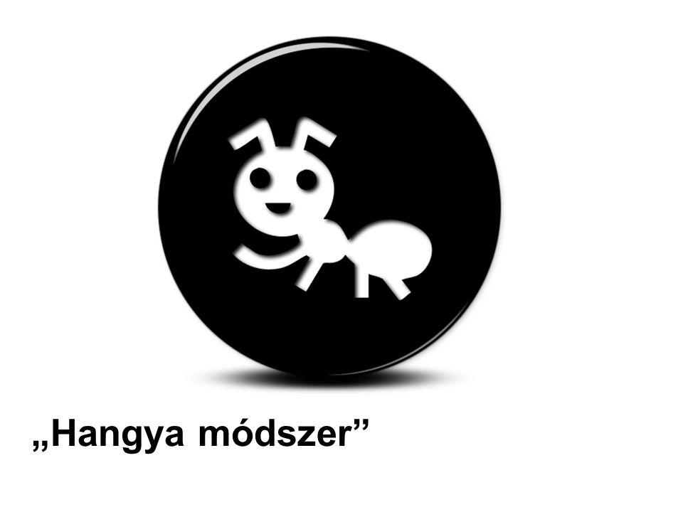 """""""Hangya módszer"""