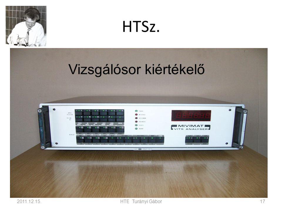 HTSz. 2011.12.15.HTE Turányi Gábor17 Vizsgálósor kiértékelő