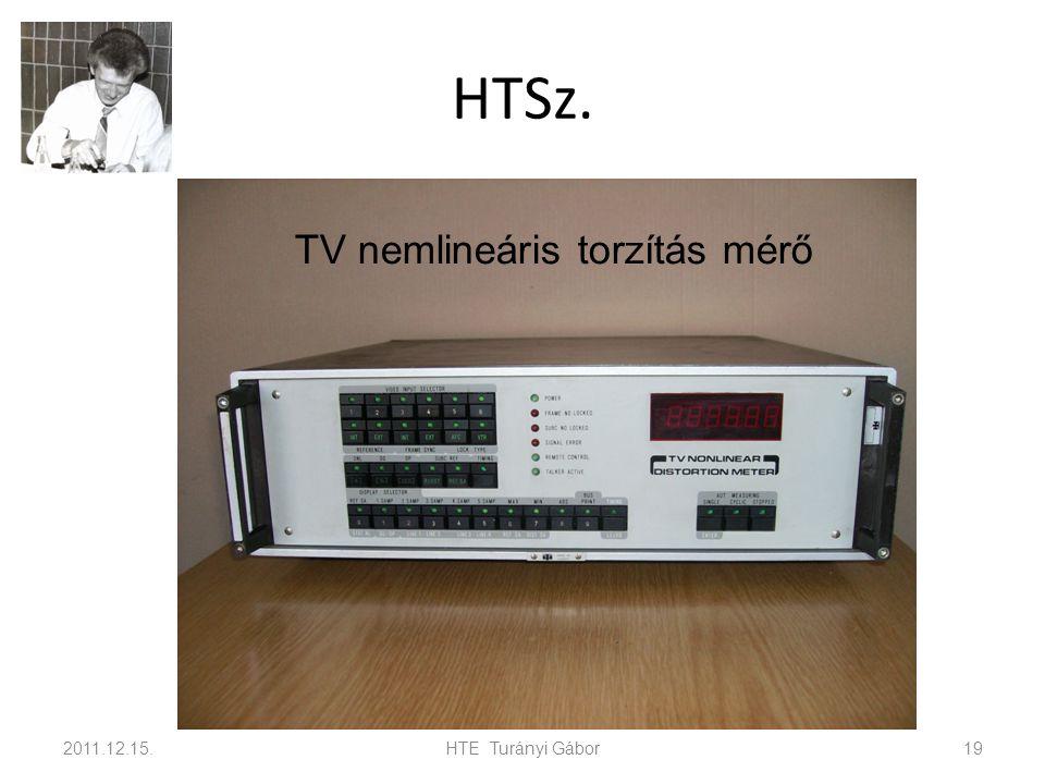 HTSz. 2011.12.15.HTE Turányi Gábor19 TV nemlineáris torzítás mérő