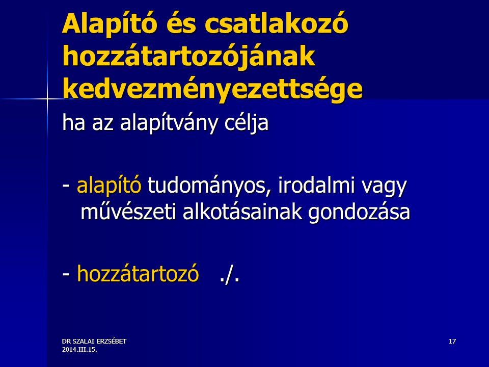 DR SZALAI ERZSÉBET 2014.III.15.