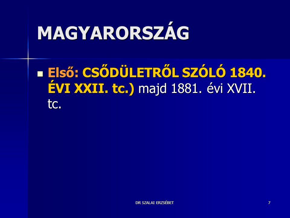 DR SZALAI ERZSÉBET8 1949-1990 közötti időszakról