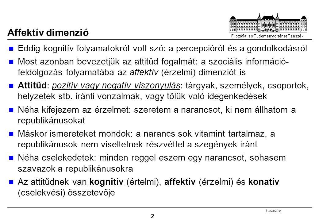 Filozófia 3 Attitüdök Pl.